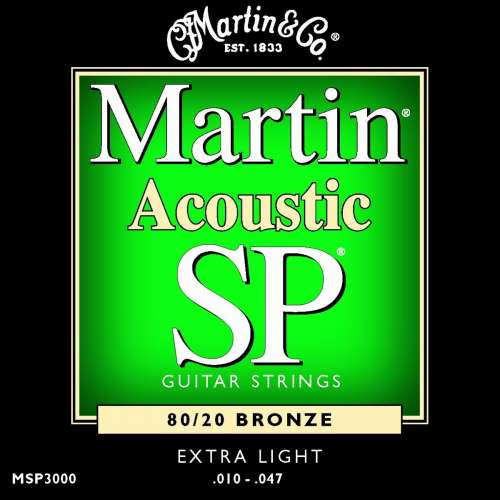 Martin MSP3000 SP 80/20 Bronze, Extra Light
